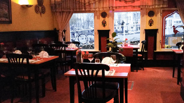 India Garden restaurantzaal