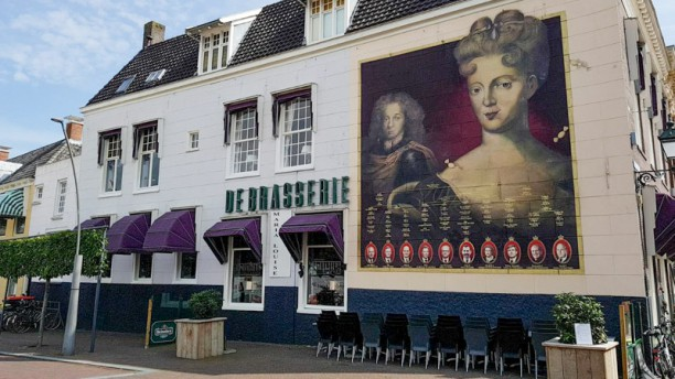 De Brasserie Maria Louise outside