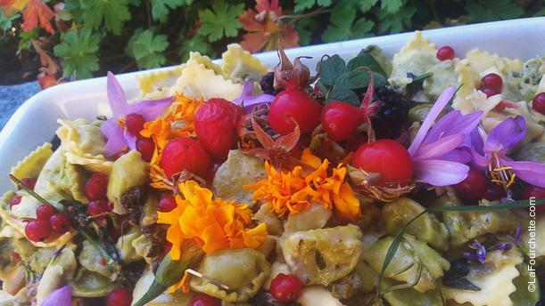 Kilometro Bio Ravioli erbe e fiori