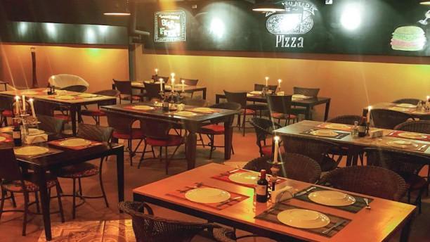 Tutta Pizza Panamby Vista do interior