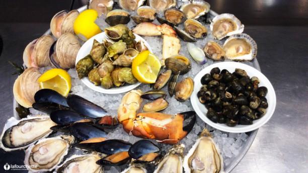 Restaurant l 39 hu trier paris 75017 arc de triomphe ternes porte maillot menu avis - Restaurant fruit de mer porte maillot ...