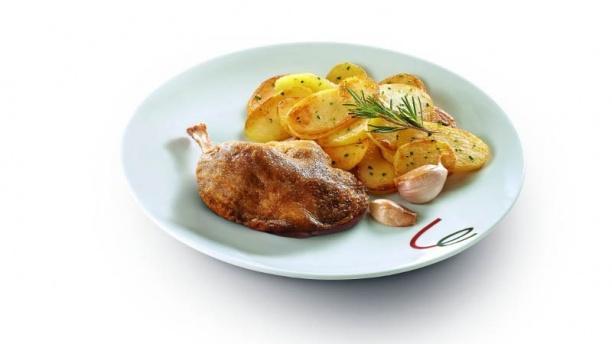 Campanile Saint-Dié-des-Vosges cuisse de canard confite et ses pommes sautées