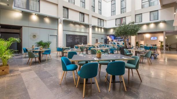 Bistrot City Lyon Part Dieu Salle du restaurant