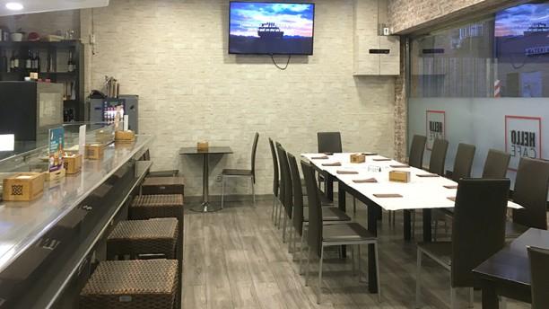 Hello Café Vista sala