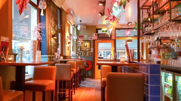 Pistache Cocktails & Burgers Het restaurant