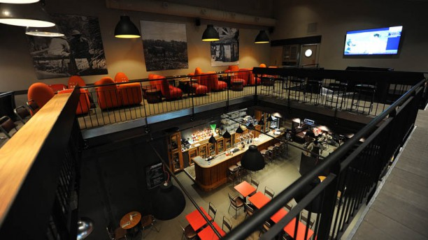 La Distillerie Vue de la salle