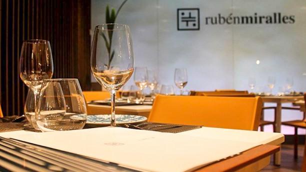 Rubén Miralles Sala del restaurante