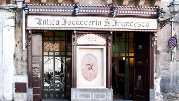 Antica Focacceria San Francesco - Palermo entrata