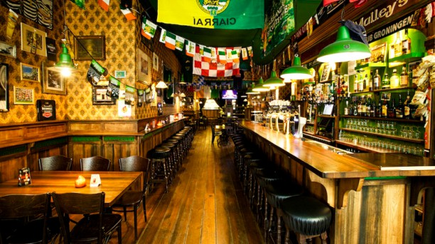 O'Malley's Irish Pub & Restaurant restaurantzaal