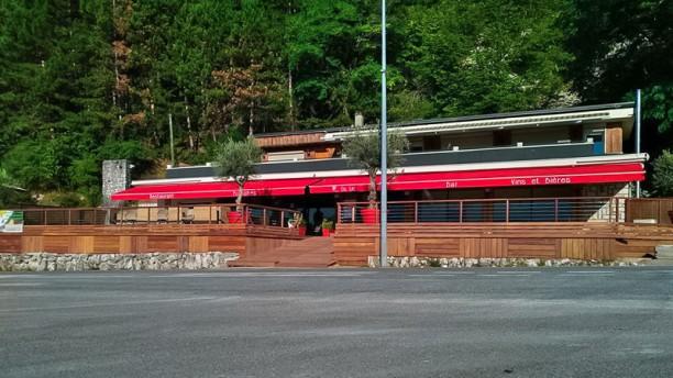 R du Lac Vue du restaurant