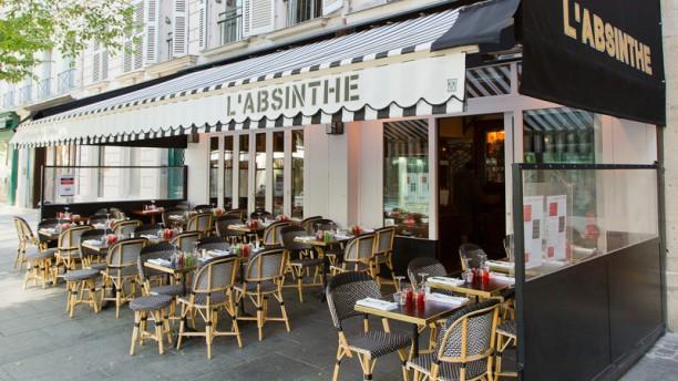L'Absinthe La terrasse