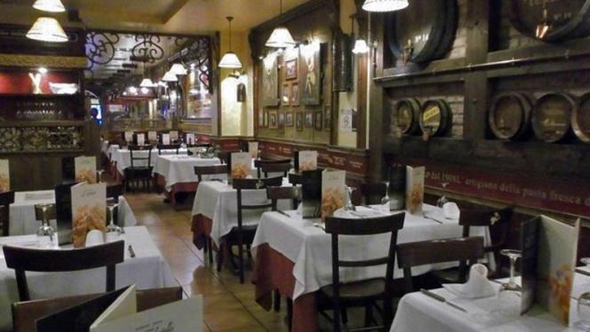 Vista sala - La Tagliatella Zurita, Zaragoza