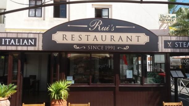Rui's Restaurant Entrada