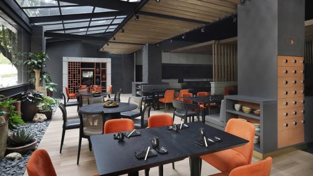 Kofu Sushi Vista da sala