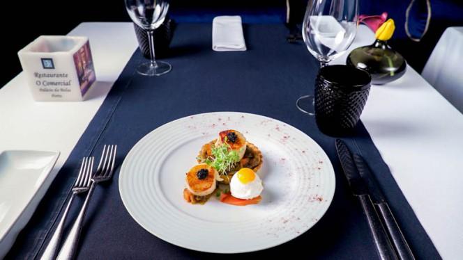 Sugestão do chef - O Comercial, Porto