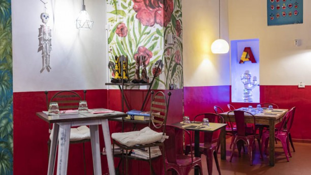 Alma latina Cucina Messicana senza glutine dal 1993 Vista sala