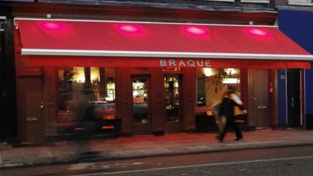 Café Restaurant Braque Ingang