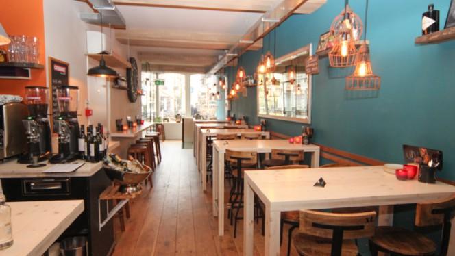 Restaurant boven - Pinchobar De Zwarte Vosch, Utrecht