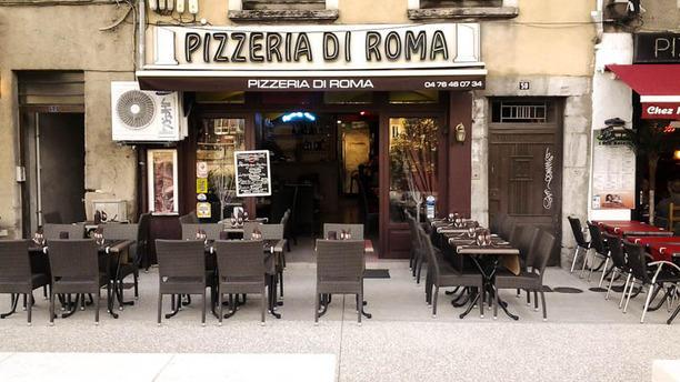 Pizzeria di Roma Vue devanture