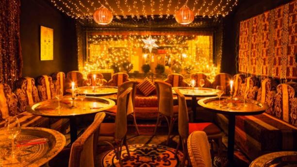 Mille et Une Nuits Salle du restaurant