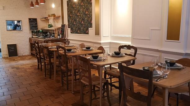 Mlle Coccinelle Salle du restaurant