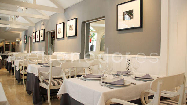 Restaurante il salotto en madrid goya serrano for Idee per arredare il salone