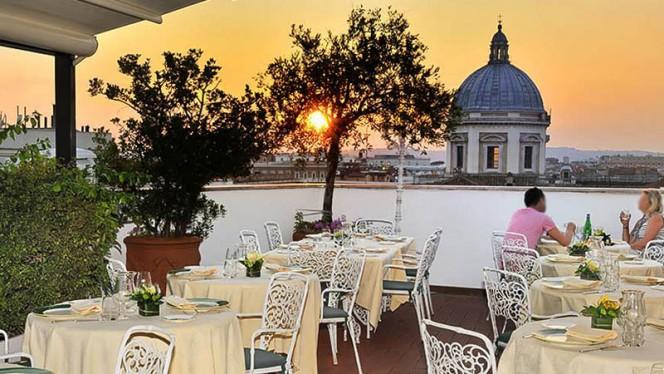 terraza con vista - La Terrazza dei Papi, Rome
