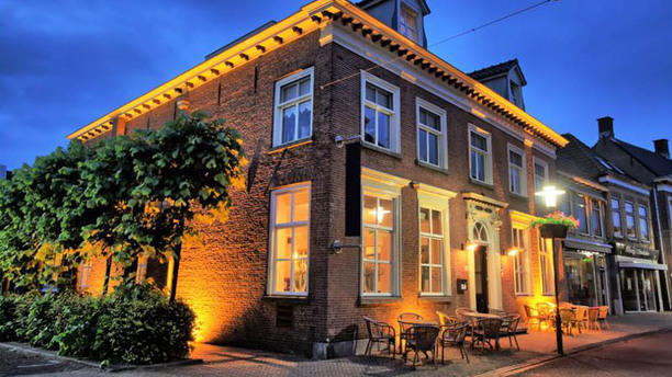 De Lachende Gans Werkendam Voorkant restaurant