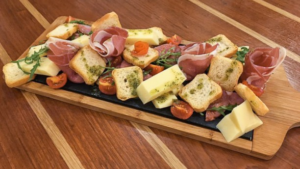 BlackBird Ham and Cheese Platter