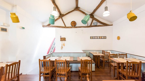 Casa rocha Sala do restaurante