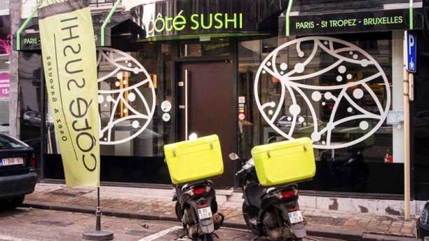 Côté Sushi Uccle devanture