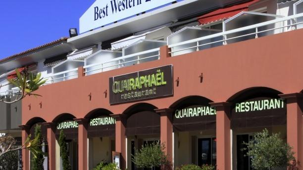 Quai Raphaël - Hôtel Best Western La Marina Devanture