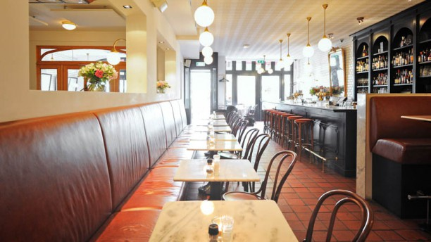 Café Colette Het restaurant
