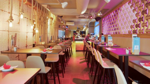 Geisha Lounge Restaurantzaal