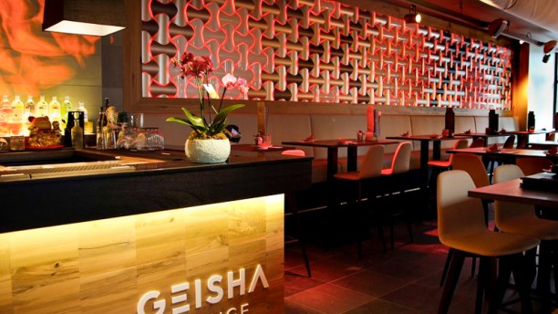 About the restaurant Geisha Lounge