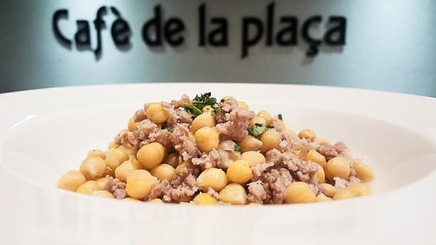 Café de la Plaça Sugerencia del chef