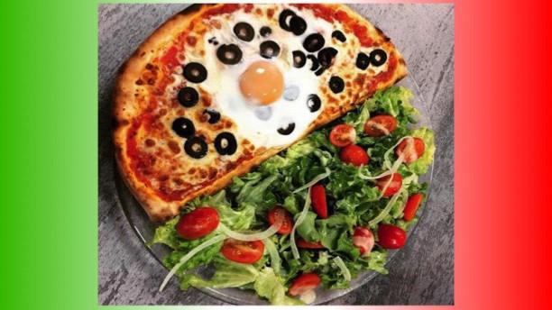 Impro'Vista Une demi pizza pour les petites faim