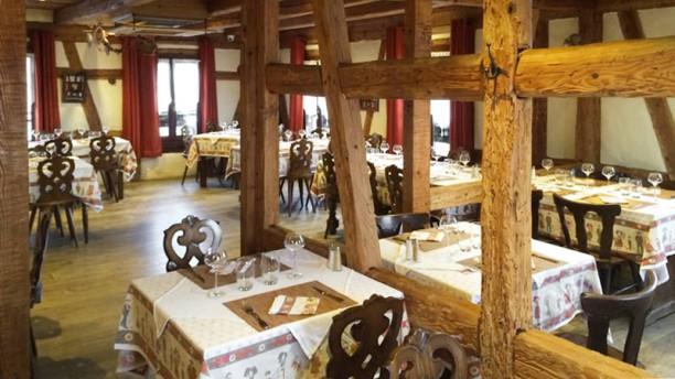 Auberge du Moulin Vue de la salle
