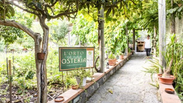 Osteria Villa Raffaella Cortile