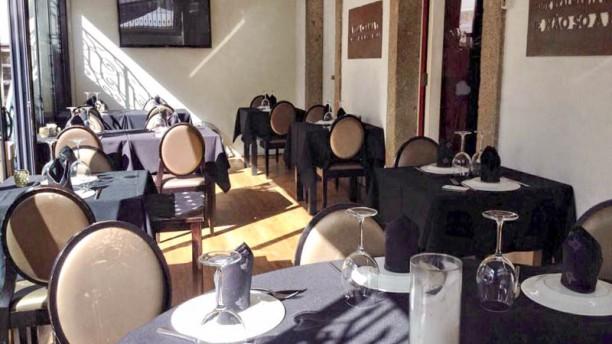 Restaurante Palatu Vista do interior