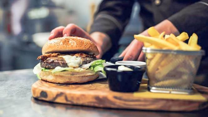 Carbonara Burger - Sciantusi, Benidorm
