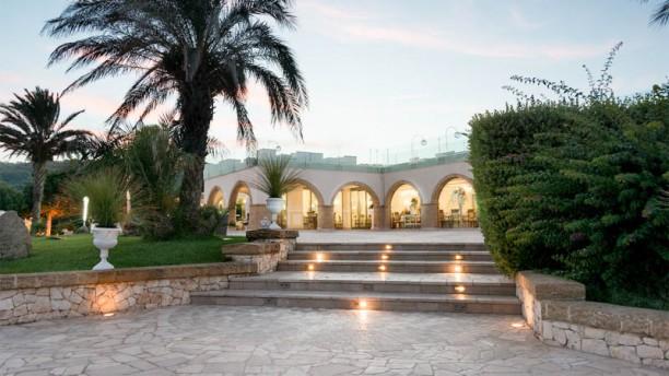 Augustus Resort- Restaurant Entrata