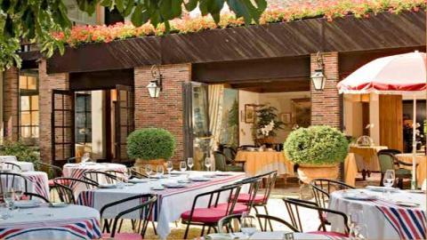 restaurant - Restaurant de l'Hôtellerie du Bas-Bréau - Barbizon