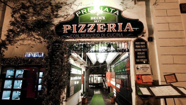 Premiata Pizzeria La entrata