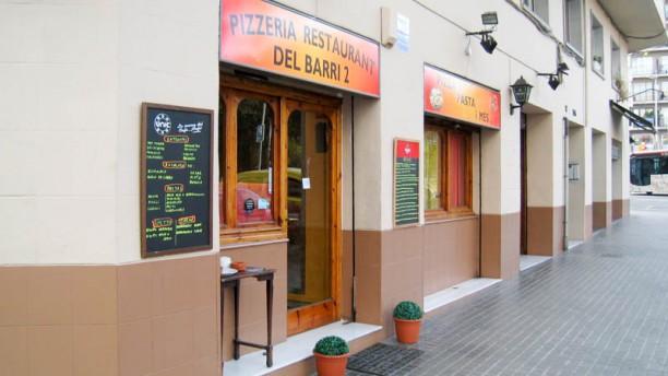 Pizzeria del Barri 2 Vista de la sala