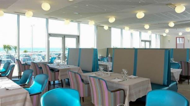 Restaurant le Sound - Thalasso Donville-les-Bains Hôtel de La Baie Vue salle