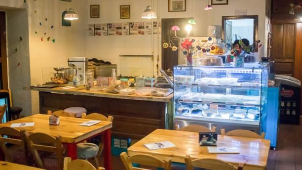 D´Canela Postres y Pastas Vista de la sala