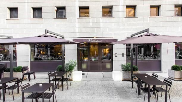 Alexander Restaurant esterno