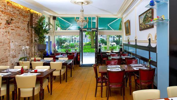 Eetcafe De Zwarte Ruiter op 't Witte Paart Het restaurant