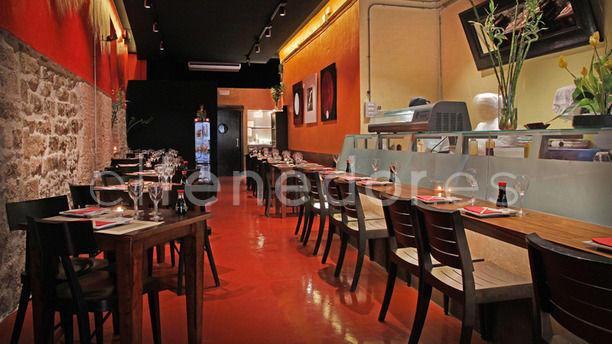 Matsuri Regomir parte sushi-bar